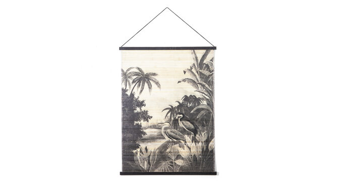 Wanddecoratie Miyagi Jungle | By-Boo