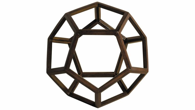 Beeld Dodecahedron AR038 | Authentic Models