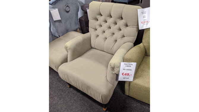 Fauteuil Taylor - Outlet