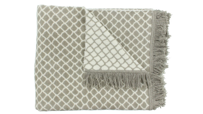Plaid Grey Colly   Claudi Chique