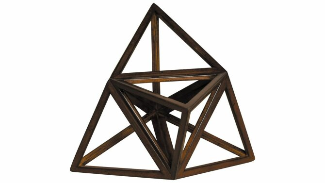 Beeld Elevated Tetrahedron AR037 | Authentic Models