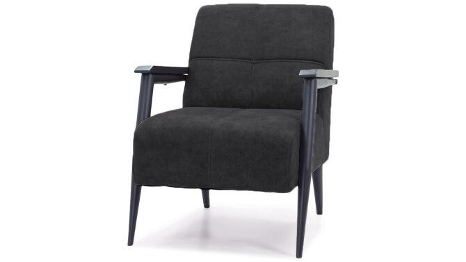 Fauteuil - antraciet Dox