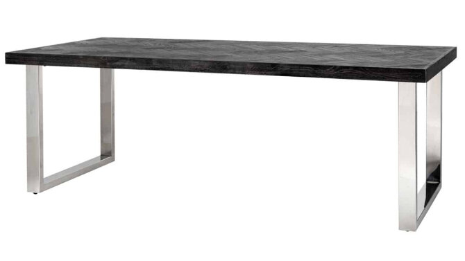 Eettafel 7419 Blackbone zilver | Richmond Interiors