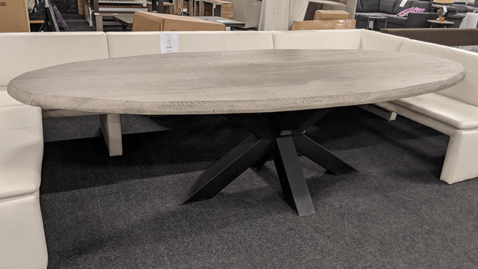 Eettafel Scape ovaal - Outlet