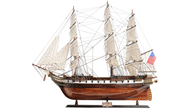 Miniatuur boot USS Constellation AS159 | Authentic Models