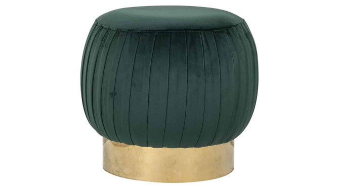 Pouffe S4428 Green Faye | Richmond