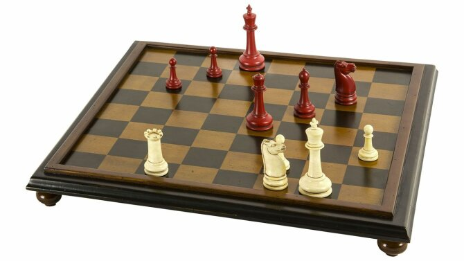 Schaakset Classic Chess Board GR028 | Authentic Models