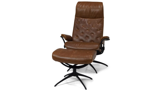 Relaxfauteuil + Hocker Metro Highback - Outlet 861