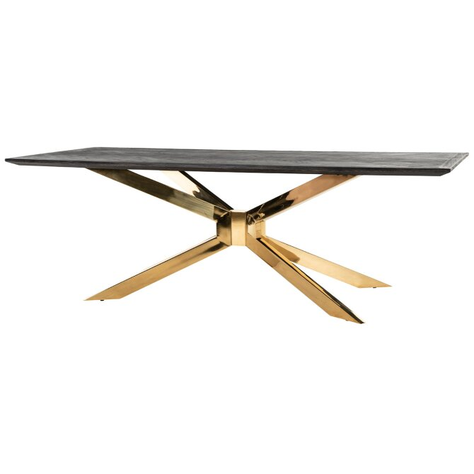 Eettafel Matrix Blackbone goud | Richmond Interiors