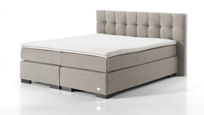 Boxspring Pacem taupe-beige