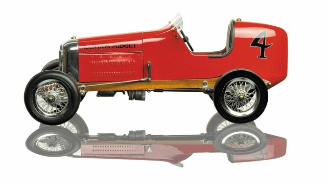 Modelauto Red Bantam Midget PC012 | Authentic Models