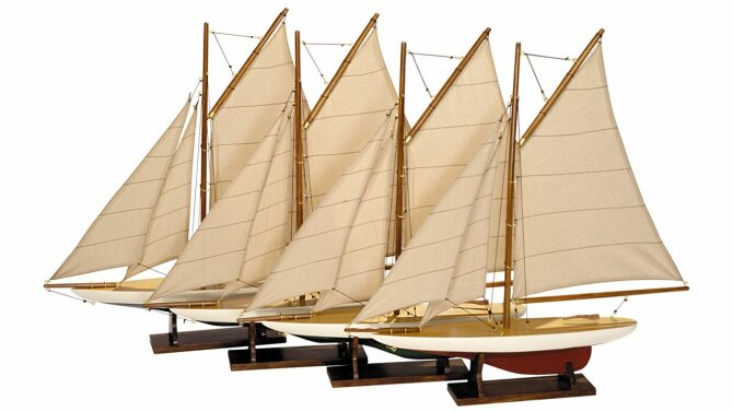 Miniatuur boten Yachts AS057A  | Authentic Models