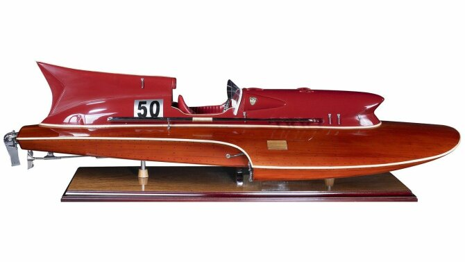 Thunderboat AS184 | Authentic Models