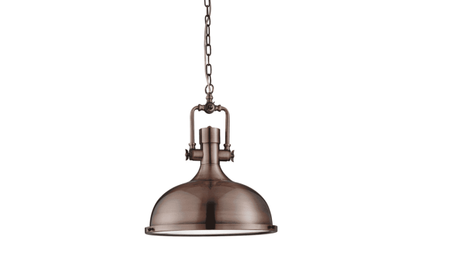 Hanglamp Industrial Pendants 1322CU | Searchlight