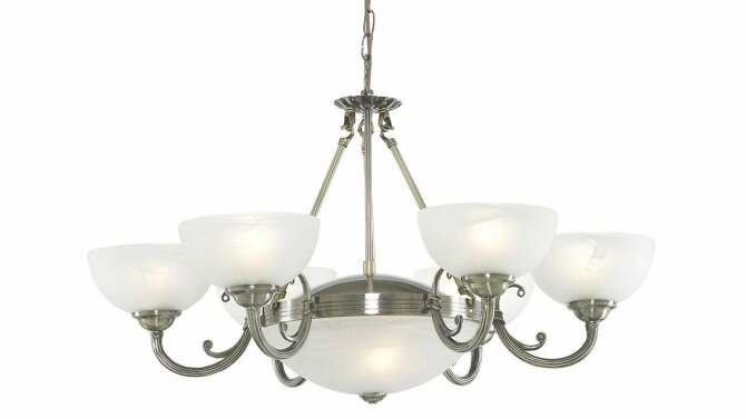 Hanglamp Windsor 3778-8AB | Searchlight
