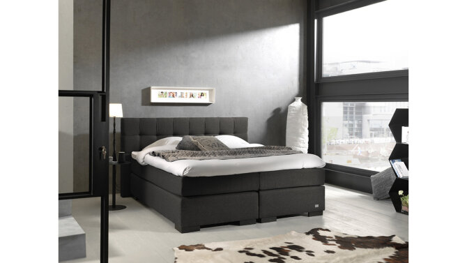 Boxspring Pacem antraciet