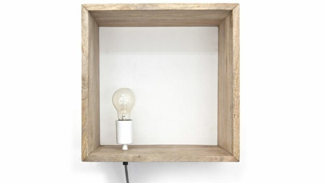 Lamp Light in a Box - Natural   0386   By-Boo
