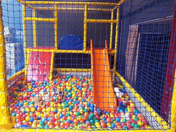 Kinderspeelhoek-speelhoek